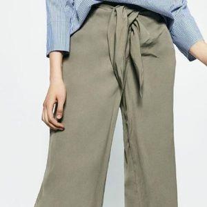 Zara Wide Leg Culottes